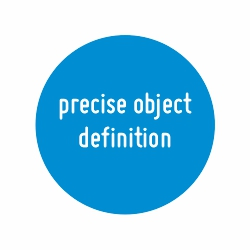 precise object definition